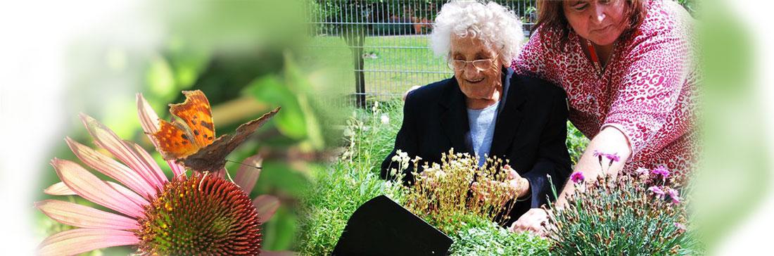 Gartentherapie, Senioren blühen auf